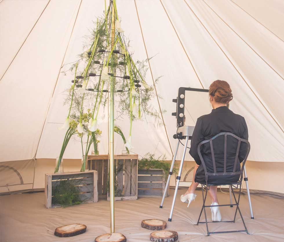 location tente mariage camping chic