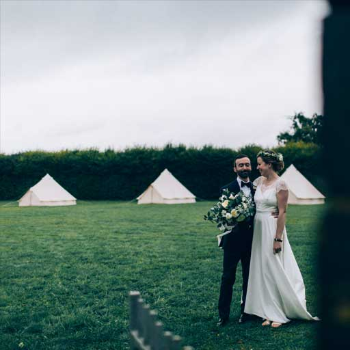bivouac luxe mariage